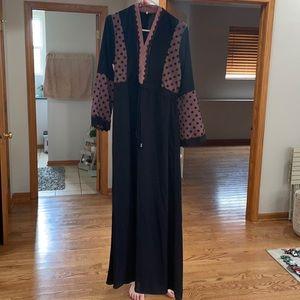 Long sleeve Abaya size 2 good condition